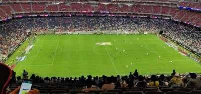 NRG Stadium, secção: 636, fila: T, lugar: 14