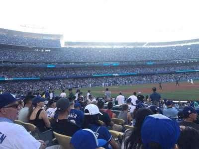 Dodger Stadium secção 34FD