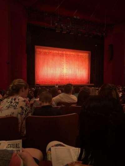 The Kennedy Center Opera House secção Orchestra