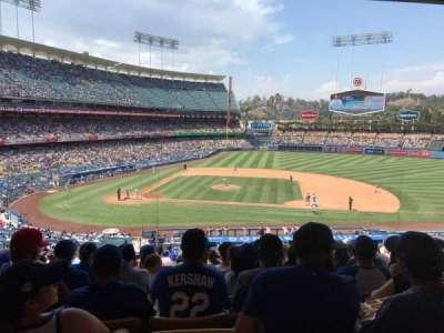Dodger Stadium secção 130LG