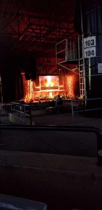 Hollywood Casino Amphitheatre (Tinley Park), secção: 206, fila: mm, lugar: 2