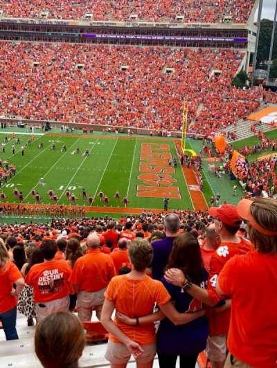 Memorial Stadium, Clemson secção UB