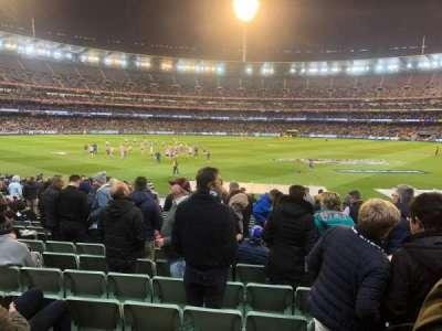 Melbourne Cricket Ground, secção: M23, fila: Y, lugar: 6