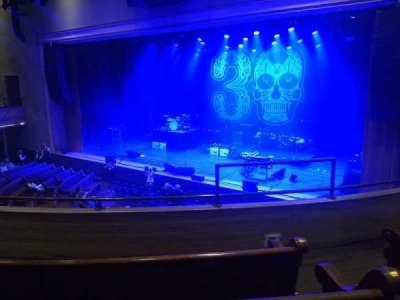 Ryman Auditorium, secção: BAL-11, fila: D, lugar: 3