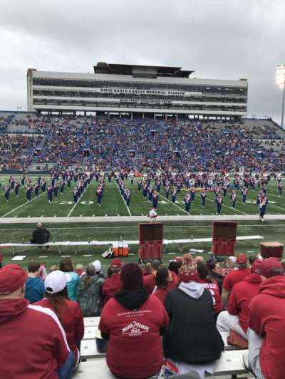 David Booth Kansas Memorial Stadium secção 22