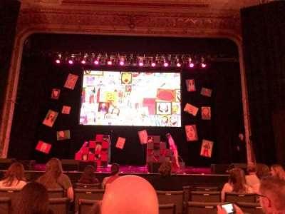 Keswick Theatre, secção: Center, fila: CC, lugar: 104