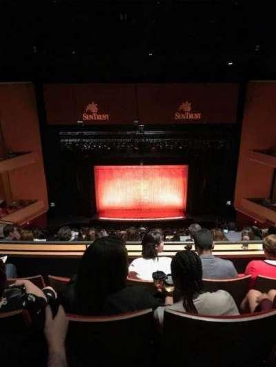 Durham Performing Arts Center, secção: Balcony 9, fila: M, lugar: 114