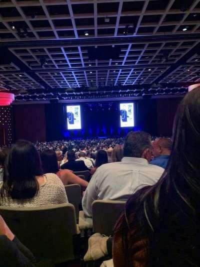 Borgata Event Center, secção: C, fila: S, lugar: 8