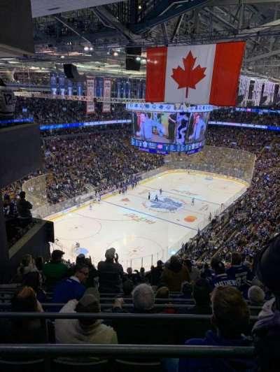 Scotiabank Arena, secção: 313, fila: 15, lugar: 6