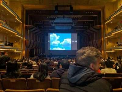 David Geffen Hall secção orchestra