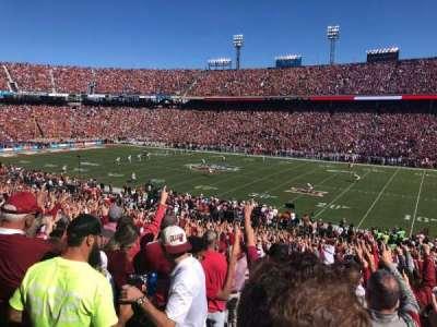 Cotton Bowl, secção: 3, fila: 40, lugar: 28