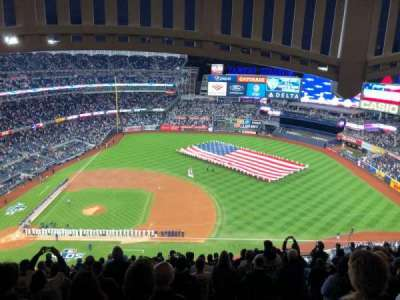 Yankee Stadium, secção: 415, fila: 14, lugar: 16