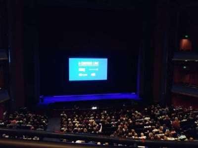Sarofim Hall, secção: Mezzanine Center, fila: A, lugar: 102