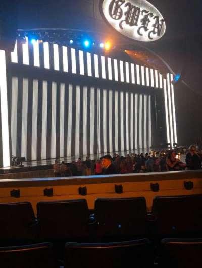 Zappos Theater, secção: 104, fila: D, lugar: 15