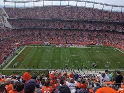 Empower Field at Mile High Stadium, secção: 536, fila: 18, lugar: 4
