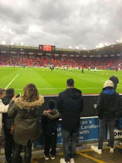 St Mary's Stadium, secção: 44, fila: C, lugar: 1150