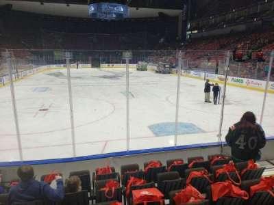 VyStar Veterans Memorial Arena, secção: 108, fila: F