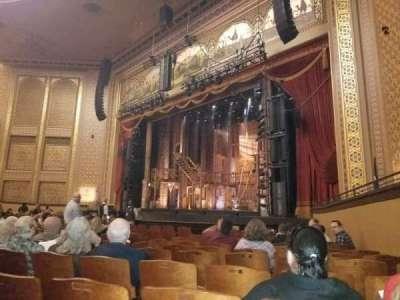 Altria Theater, secção: Orchestra A, fila: M, lugar: 101