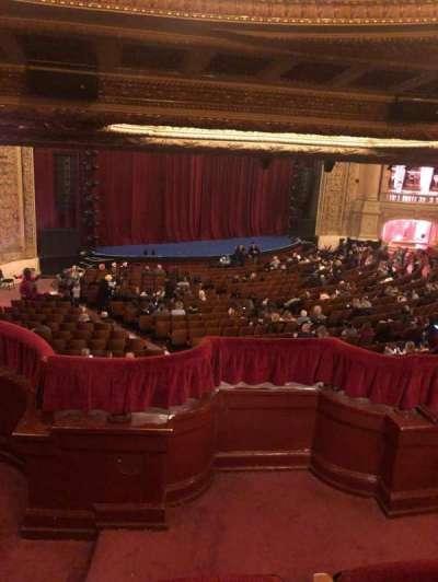 Chicago Theatre, secção: Booth T, lugar: 1