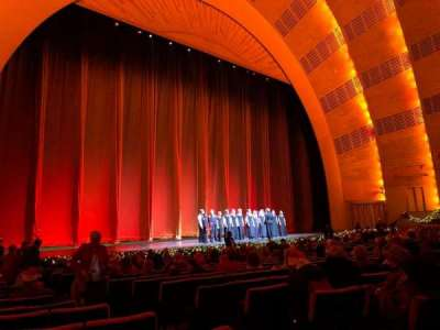 Radio City Music Hall secção Orchestra 6