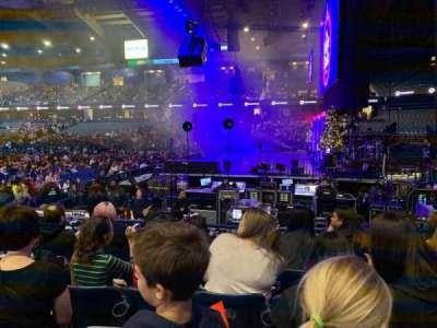 Allstate Arena, secção: 109, fila: E, lugar: 11