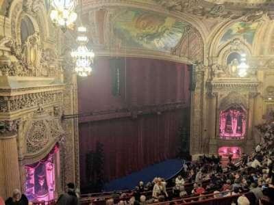 Chicago Theatre, secção: Balcony Box 6, lugar: 47and49