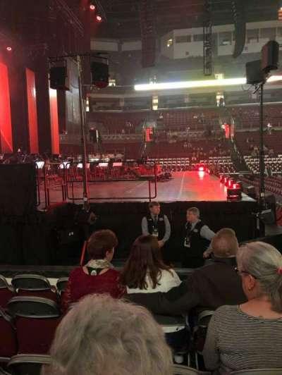 Value City Arena, secção: 107, fila: H, lugar: 12