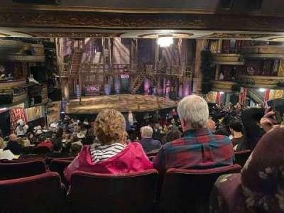 Richard Rodgers Theatre secção Orchestra L