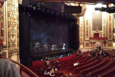 Cadillac Palace Theater secção Dress Circle L