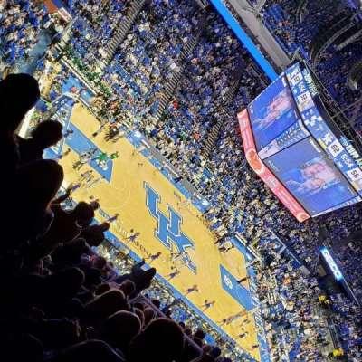 Rupp Arena, secção: 217, fila: R, lugar: 11