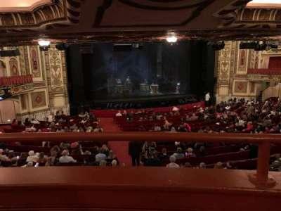 Cadillac Palace Theater secção Dress Circle LC