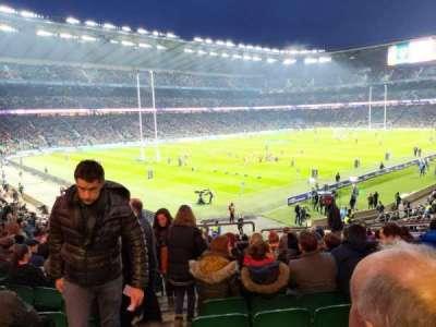 Twickenham Stadium, secção: L11, fila: 33, lugar: 439