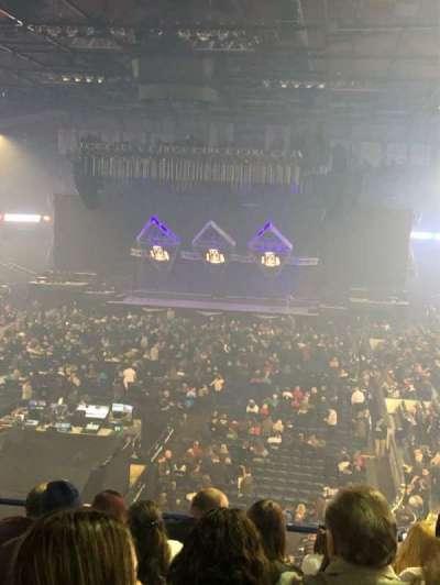 Allstate Arena, secção: 214, fila: G, lugar: 15-16