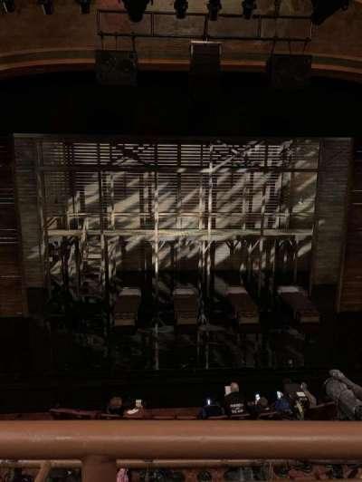 American Airlines Theatre, secção: Front mezzanine, fila: A, lugar: 123