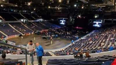 Blue Cross Arena secção 218