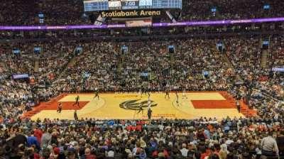 Scotiabank Arena, secção: 119, fila: 26, lugar: 3
