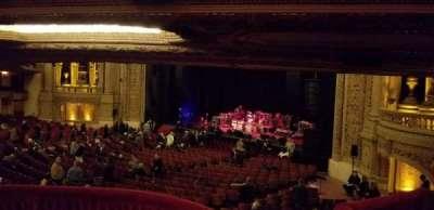 Chicago Theatre, secção: Mezzanine Box F, lugar: 3