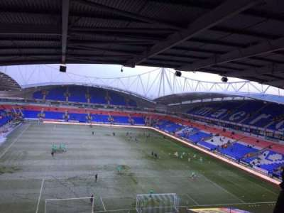 University of Bolton Stadium, secção: FU2, fila: 13, lugar: 113