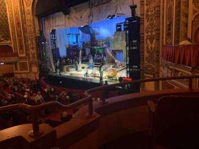 Cadillac Palace Theater secção Dress Circle FR