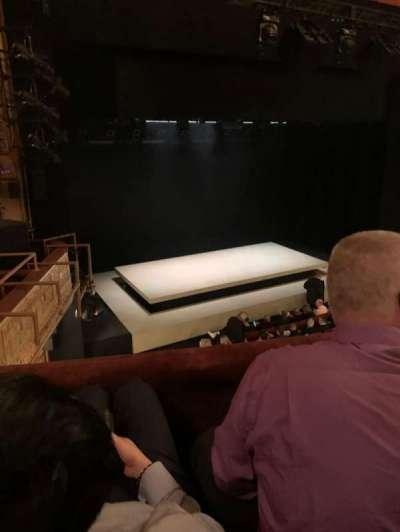 Ethel Barrymore Theatre, secção: Front Mezzanine L, fila: B, lugar: 15