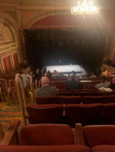 Ethel Barrymore Theatre, secção: Rear mezzanine C, fila: F, lugar: 101