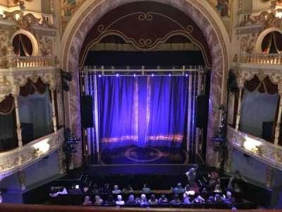 Everyman Theatre, secção: Upper, fila: A, lugar: 15