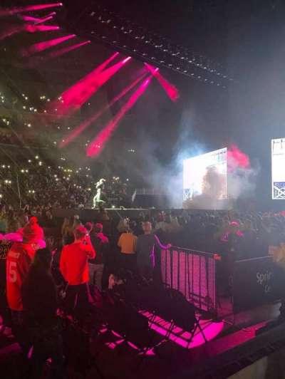 T-Mobile Center, secção: 116, fila: 2 , lugar: 13