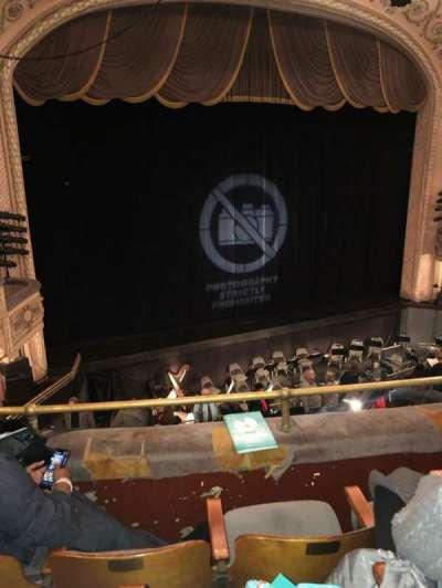 Merriam Theater, secção: BL, fila: C, lugar: 17
