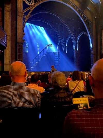 Curran Theater, secção: Orchestra L, fila: K, lugar: 15