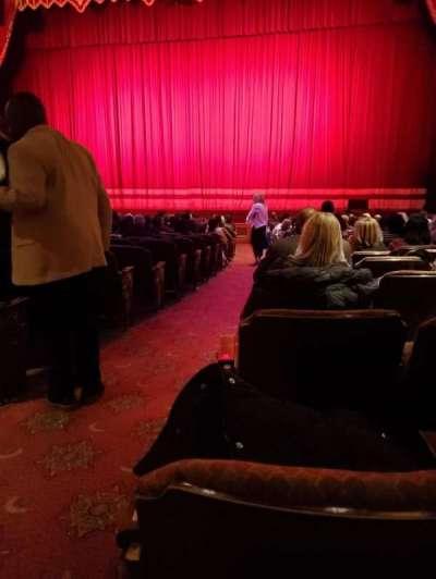 Fox Theatre (Atlanta), secção: Orchestra RC, fila: U, lugar: 54