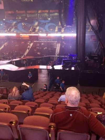 Mohegan Sun Arena, secção: 14, fila: P, lugar: 14