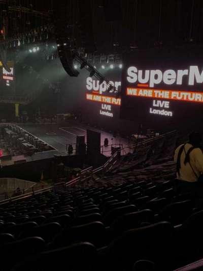 The O2 Arena secção 112
