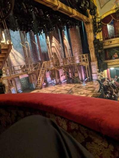 Richard Rodgers Theatre, secção: Box B, fila: B, lugar: 3