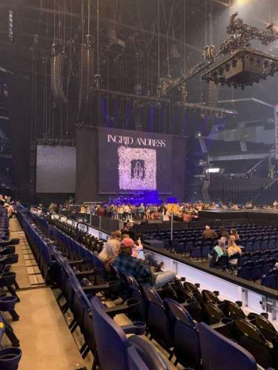 Bridgestone Arena secção 116